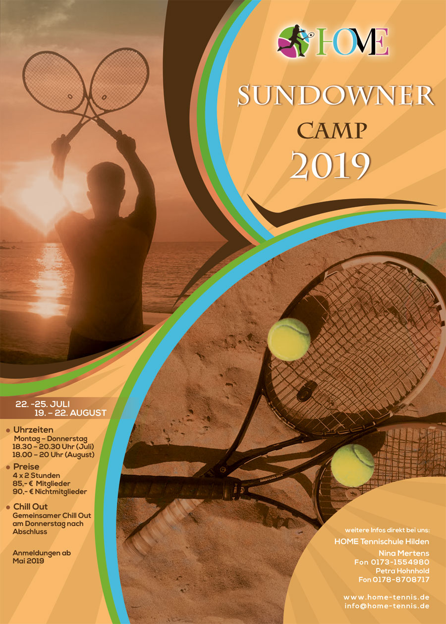 Home Tennisschule Sundownercamp 2019
