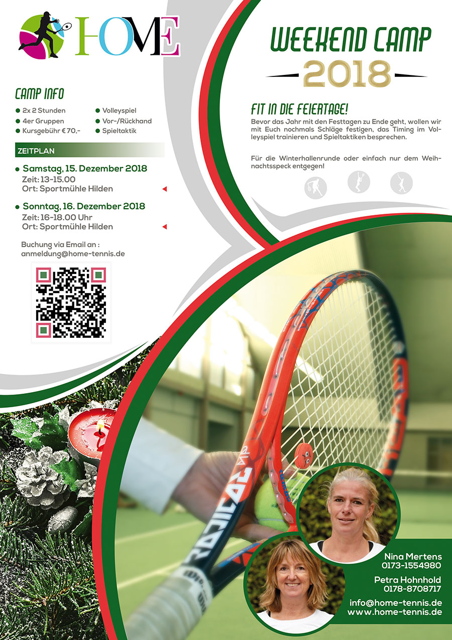 Home Tennis Weekend Camp