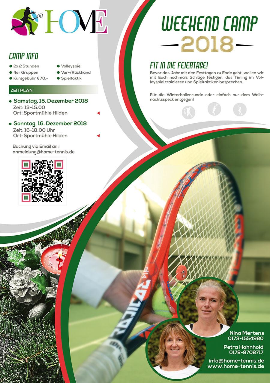 Home Tennis Weekend Camp